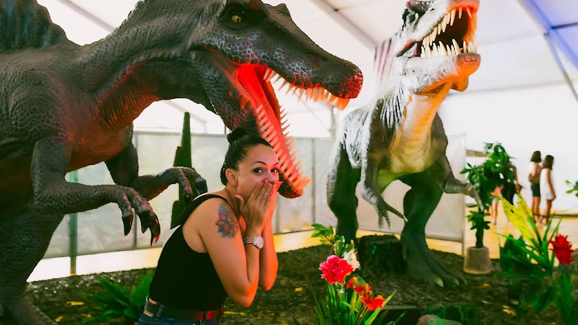 Llega la mayor exposición de dinosaurios a Almería.