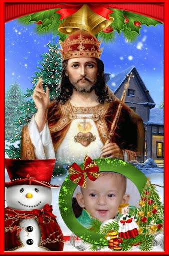 Jesus Blessing Photo Frames