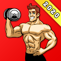 Home Workout For Men - Full Body, Chest Workouts icon