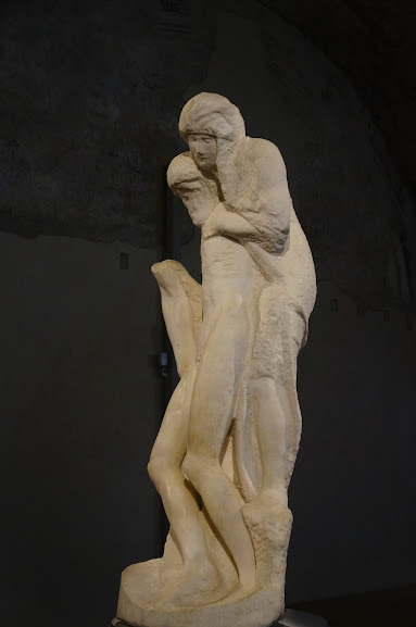 Rondanini Pietà by Michelangelo