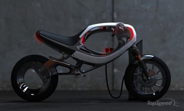 frog ebike concept is inspired from yamaha fz750 - DOC449030