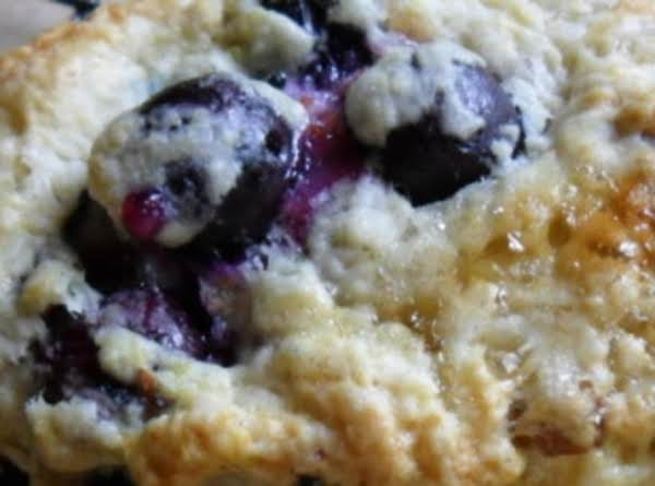 Fresh Blueberry Lemon Scones Recipe