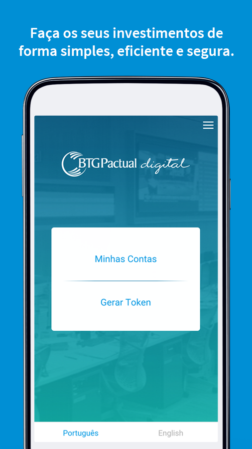 BTG Pactual digital- screenshot