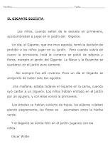 Photo: EL GIGANTE EGOISTA-1