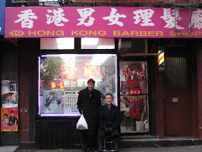 Photo: After that,  we both went for a haircut here