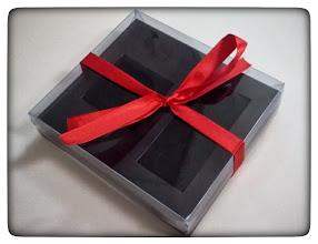 Photo: Caixa Especial com molde para objetos condecorativos (medalhas, insignias) - Foto 2