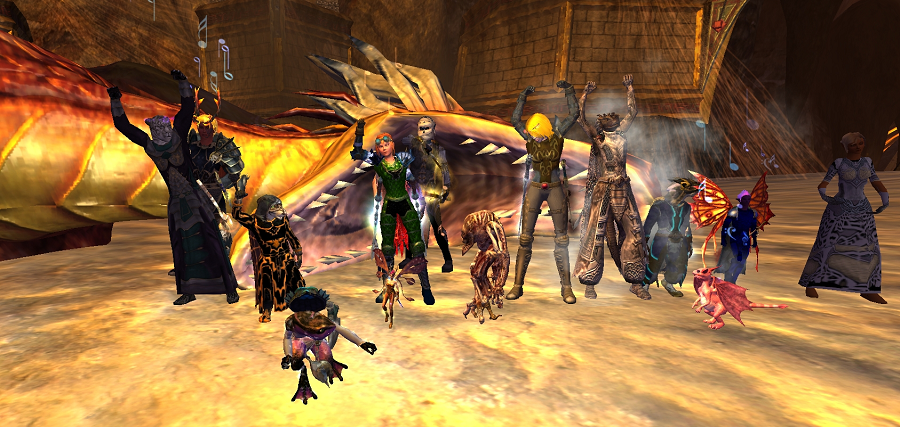 Carpe Jugulum - Freeport - Everquest 2 - Guild Hosting - Gamer Launch