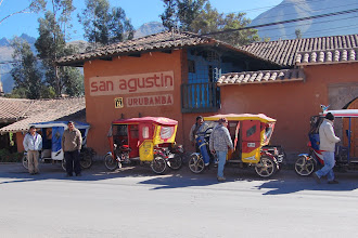 Photo: We reach the town of Urubamba, and our hotel the San Agustin.