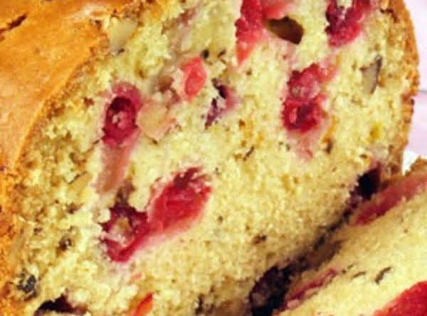Lemon Cranberry Bread Recipe