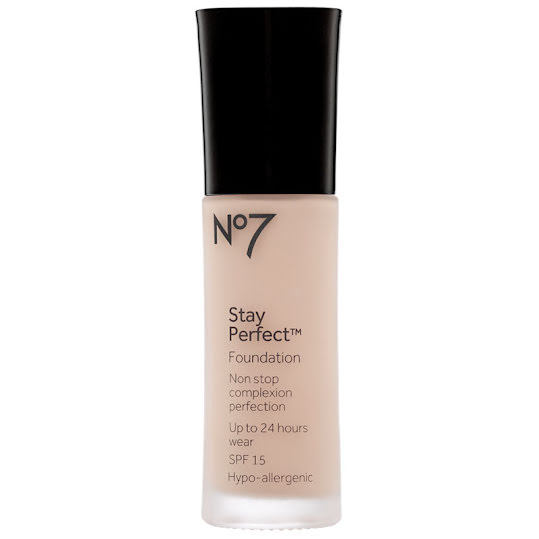 No7 Stay Perfect Foundation SPF 15 30 ml Calico