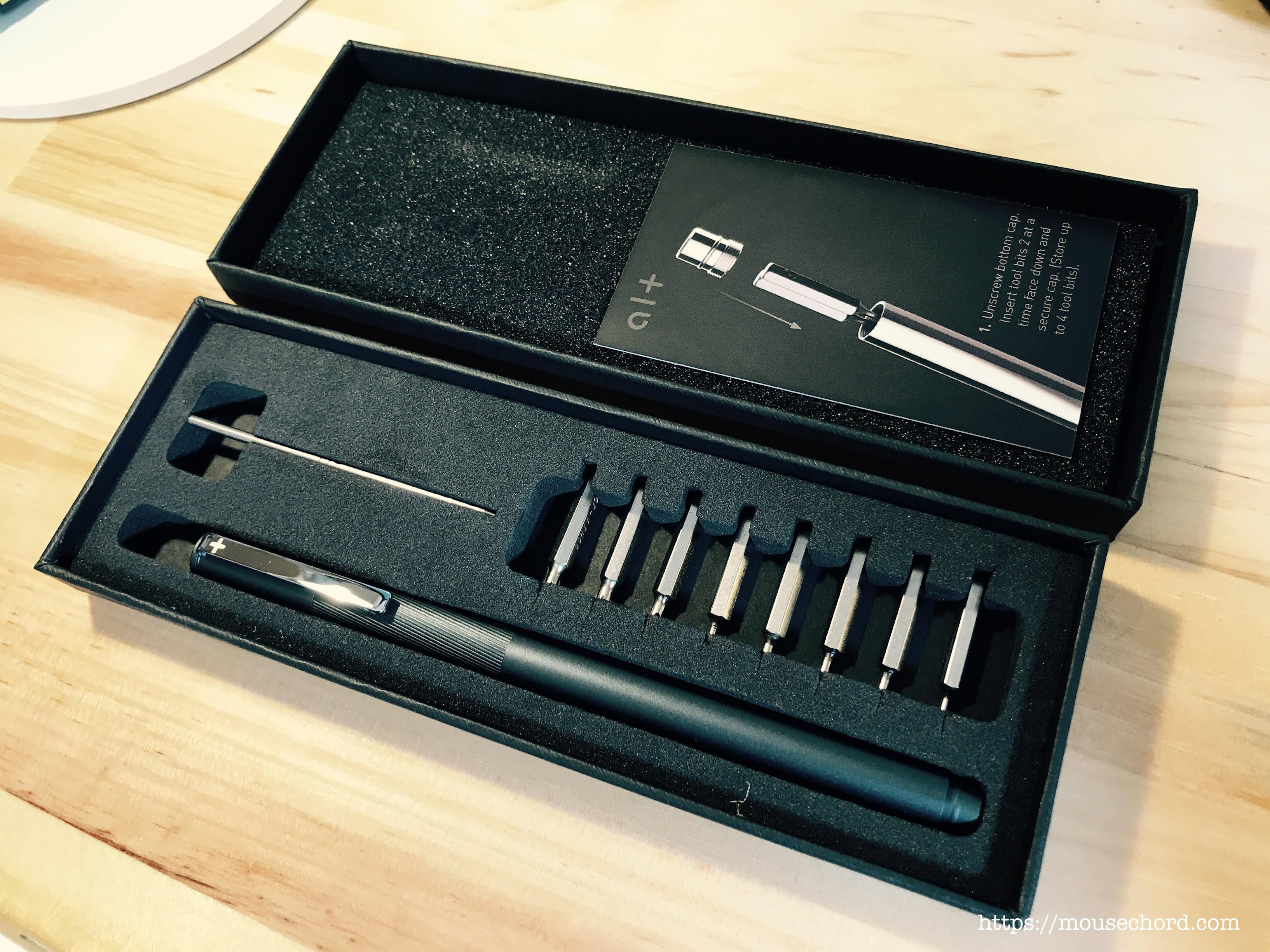 ペン型ドライバー「Alt Pen」開封Review