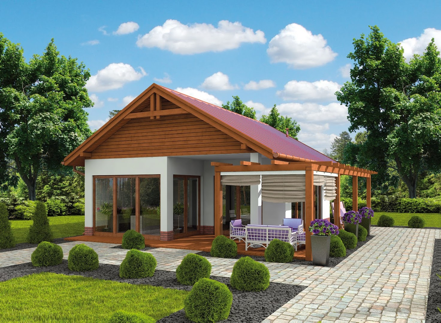 Projekt Kl12 Kuchnia Letnia Bud Gospodarczy Txs 353 43 12m