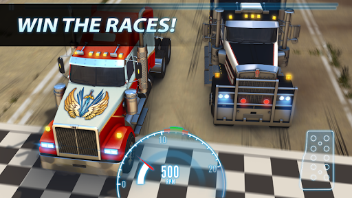 Big Truck Drag Racing screenshot 3