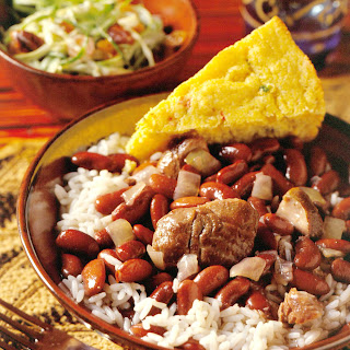 New Orleans-Style Red Beans and Rice with Fresh Ham Hocks.