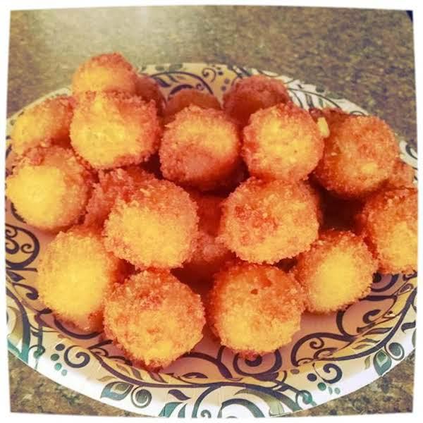 Loaded Yukon Gold Mashed Potato Balls Recipe