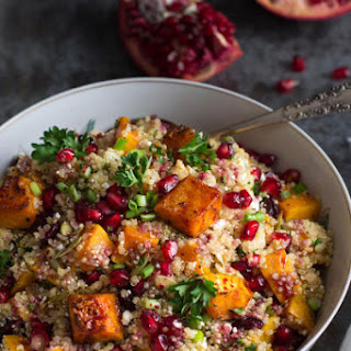 Roasted Butternut Squash Quinoa Salad Recipe