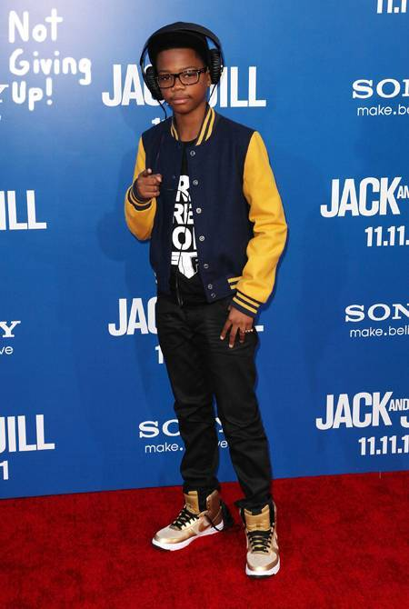 Photo: At the premiere of Jack and Jill