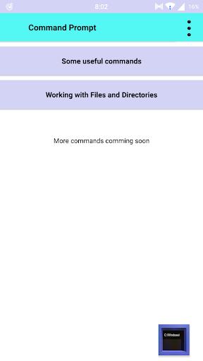 Command Prompt Apk 1