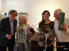 Photo: Van L > R: Peter van Korlaar, Mw. Madeleine van Elk, Dora Deliyska en Dhr. Guido van Elk
