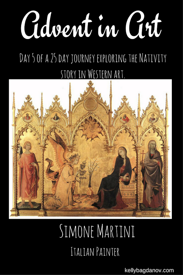 Article analyzing the Martini Annunciation.