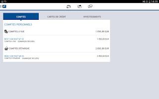 Screenshot of Fintro Easy banking