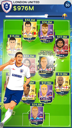 Idle Eleven - Be a millionaire soccer tycoon apkpoly screenshots 5