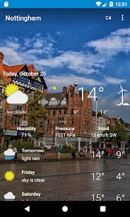 Nottingham, Nottinghamshire - Weather - náhled