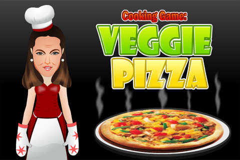 Cooking Game : Veggie Pizza