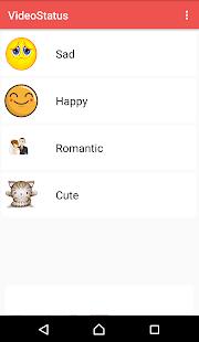 Video Status App - náhled