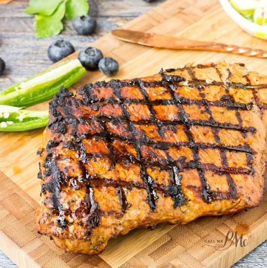 Balsamic Pork Loin/ Pesto Pork Wrap Recipe