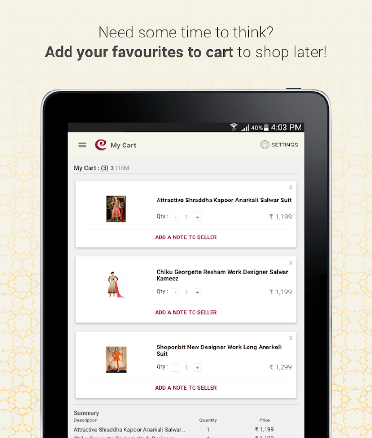 Craftsvilla - Ethnic wear Online Shopping- screenshot