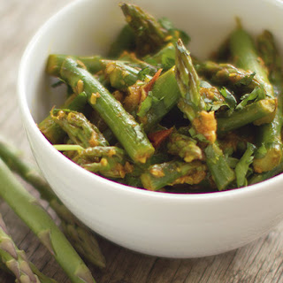Asparagus with Indian Spices.