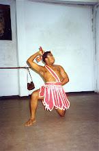 Photo: Danse de Chango - Conjunto Folklorico de Oriente - 1992