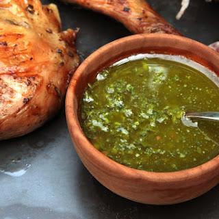 Argentine Chimichurri Sauce.