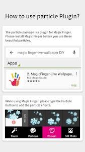 Snow Lens-Magic Finger Plugin screenshot 2