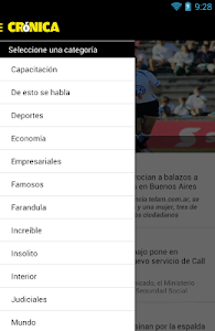 Diario Cronica Paraguay screenshot 1