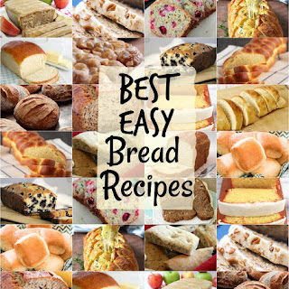 BEST BREAD RECIPES ~ Easy Homemade Bread Recipe