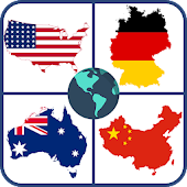World map quiz & Geography trivia game