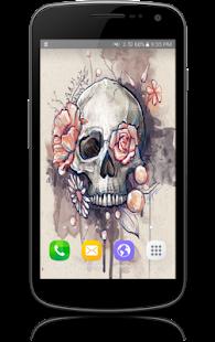 Skull Design Tattoo Wallpapers - náhled