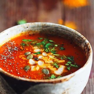 Turmeric Tomato Detox Soup Recipe