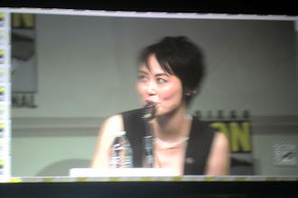 Photo: Saturday - Pacific Rim panel; star Rinko Kikuchi