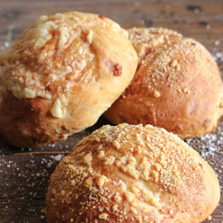The Best Homemade Double Cheese Buns.