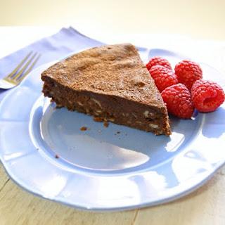 Dark Chocolate Chestnut Cake.