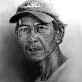 Ken Bangun by Franky Go - Drawing All Drawing ( indonesia, seni, art, male, artist, painting, drawing )