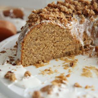 Sweet Potato Cake w/ Marshmallow Crisp Frosting