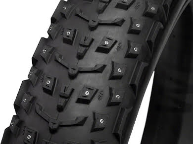"45NRTH Dillinger 5 Studded Fat Bike Tire: 120tpi 26x4.6"", 258 Concave Studs, Tubeless Ready alternate image 0"