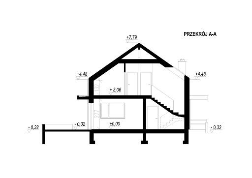 LIM House 03 - Przekrój