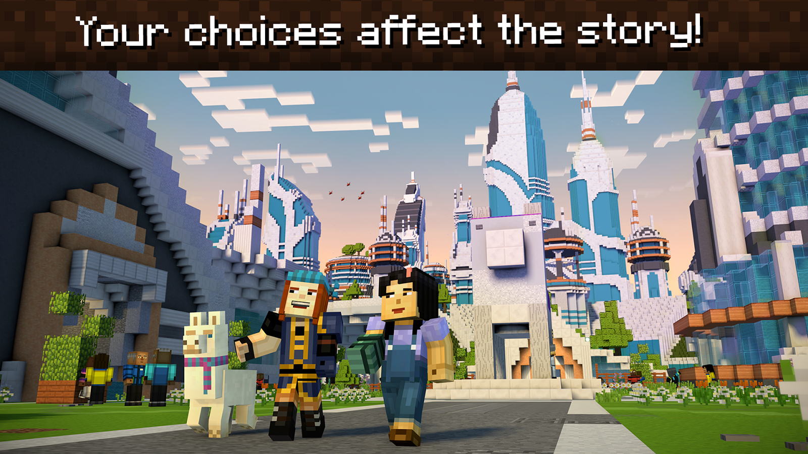Minecraft: Story Mode - Season Two – Screenshot