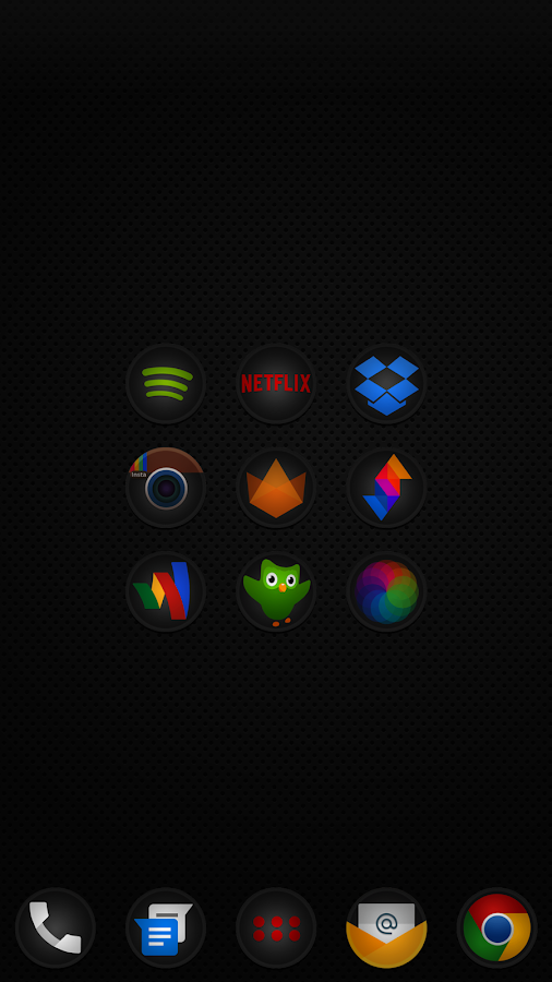 Stealth Icon Pack- screenshot