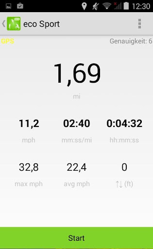 Running Tracker Distance Log